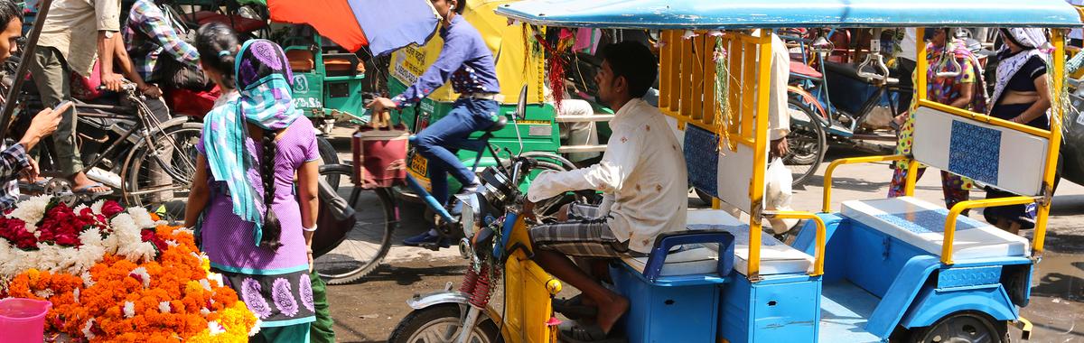 Rickshaw eléctrico