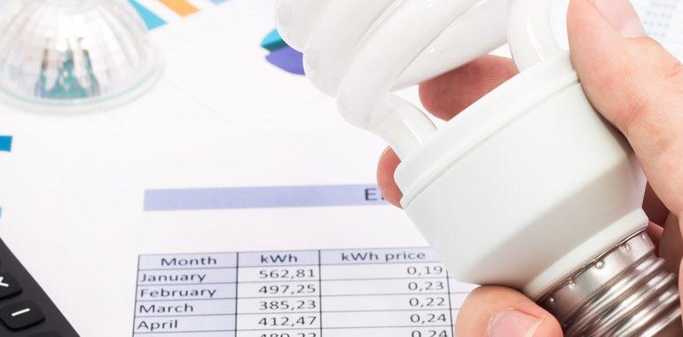 Monitorizar el gasto de luz