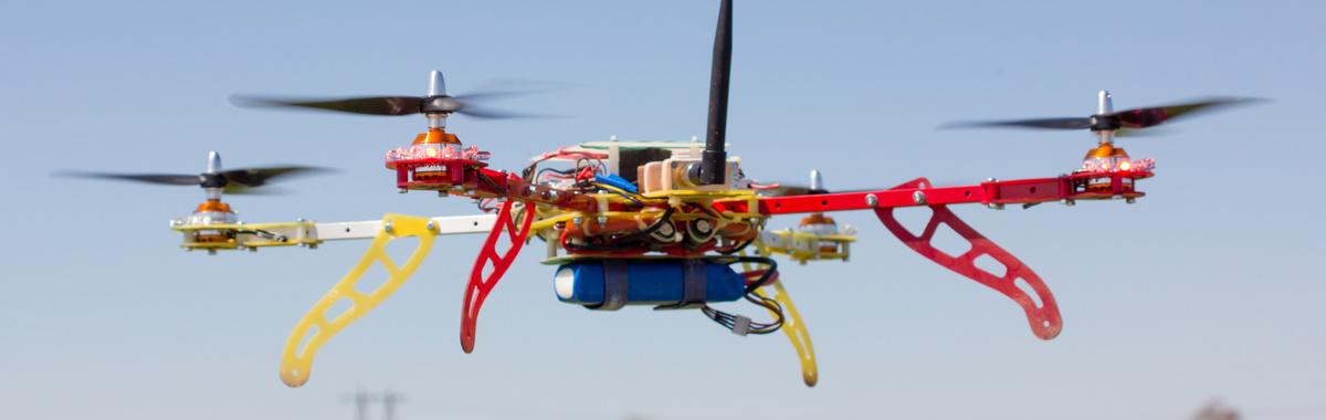 Drones para combatir la contaminación