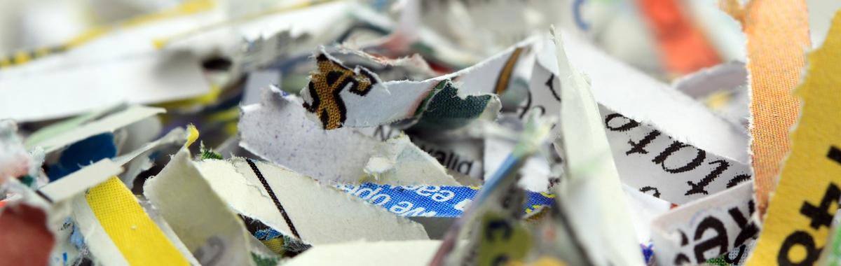 Papel para reciclar