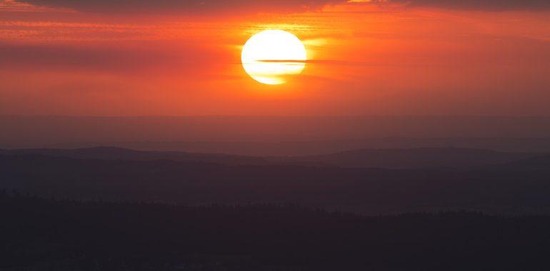Calefón solar casero