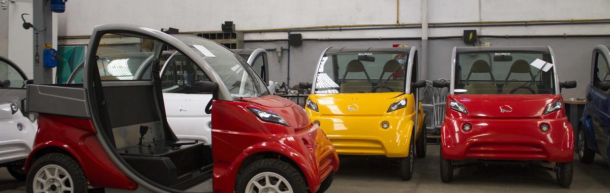 Primer microcar eléctrico argentino de fabricación en serie