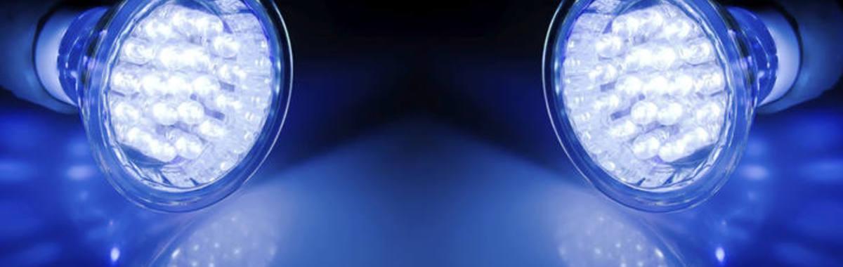 lamparas de luces LED