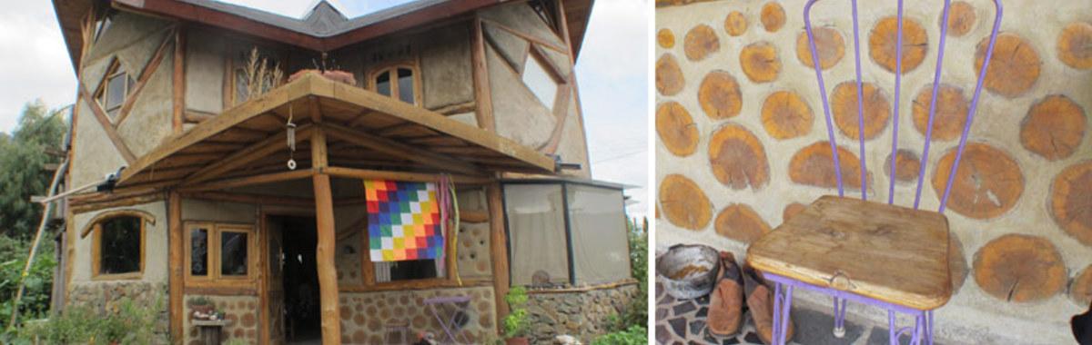 Bioconstrucción: una casa ecológica en el Bolsón