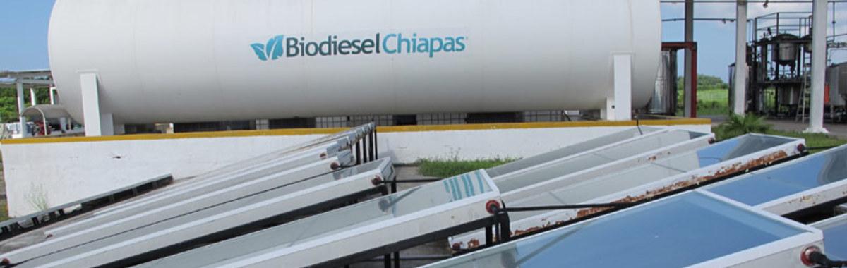 Fabricación de biodiesel en Chiapas