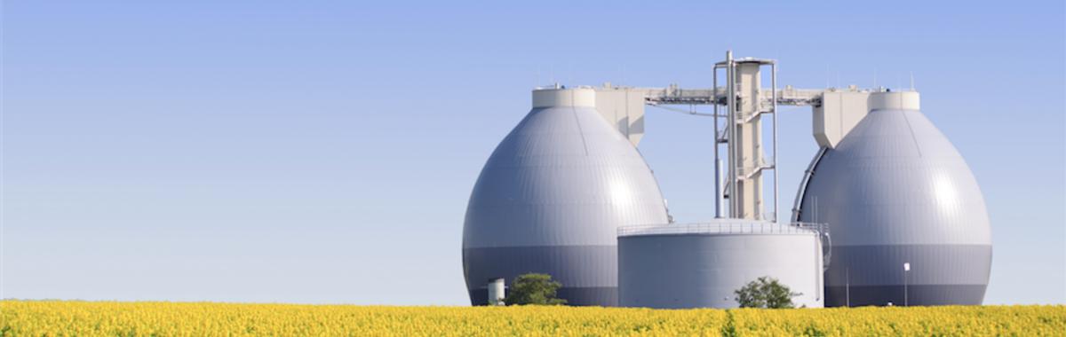 Generación de biogás con plantas de digestión anaeróbicas
