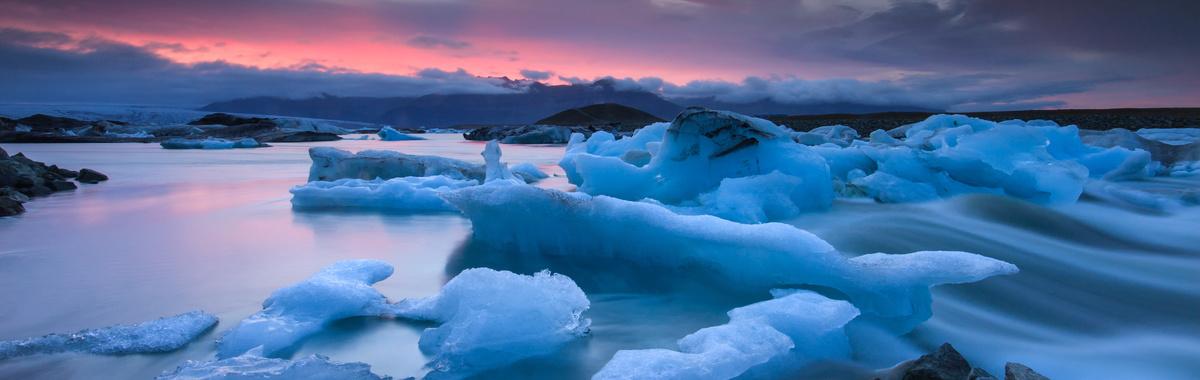 Glaciares derritiéndose - Consecuencias del efecto invernadero
