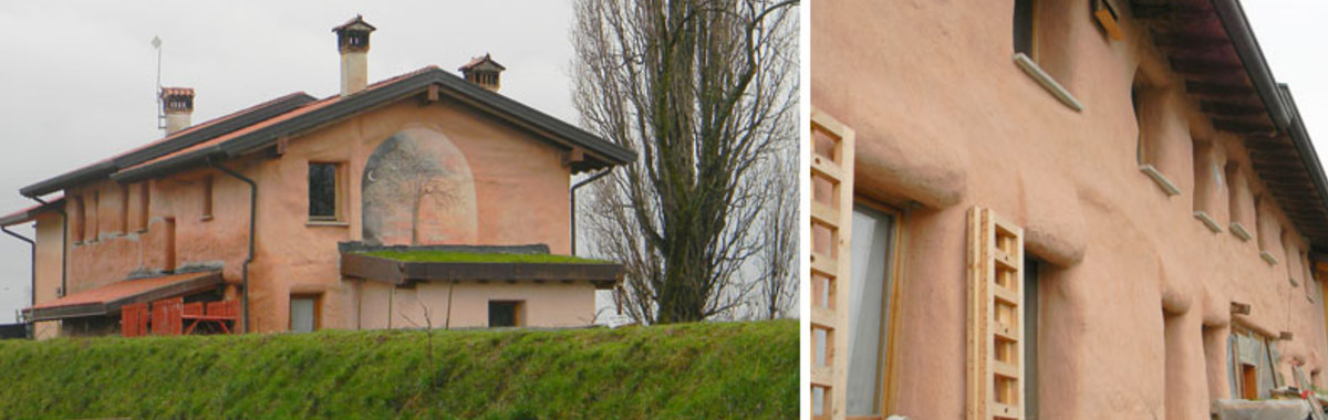Edificación alternativa: casas de paja