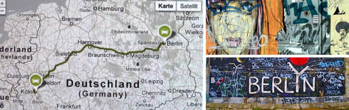 De Colonia a Berlín compartiendo coche
