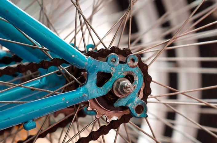 Energía cinética en bicicleta