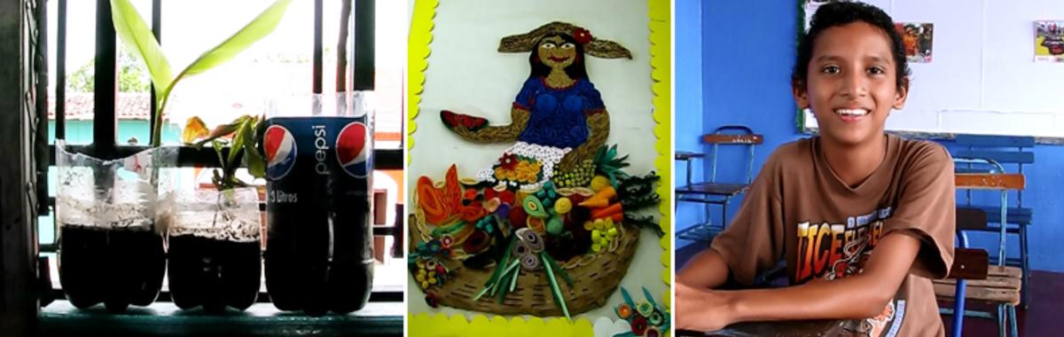 Eco-escuelas: el cambio ecológico en Nicaragua