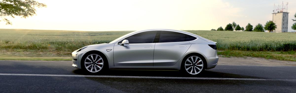Tesla Model 3: el vehículo eléctrico que bate récords