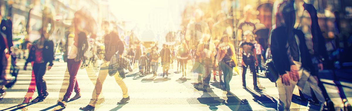 peatonalización de las calles