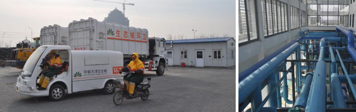 La ciudad ecológica de Tianjin