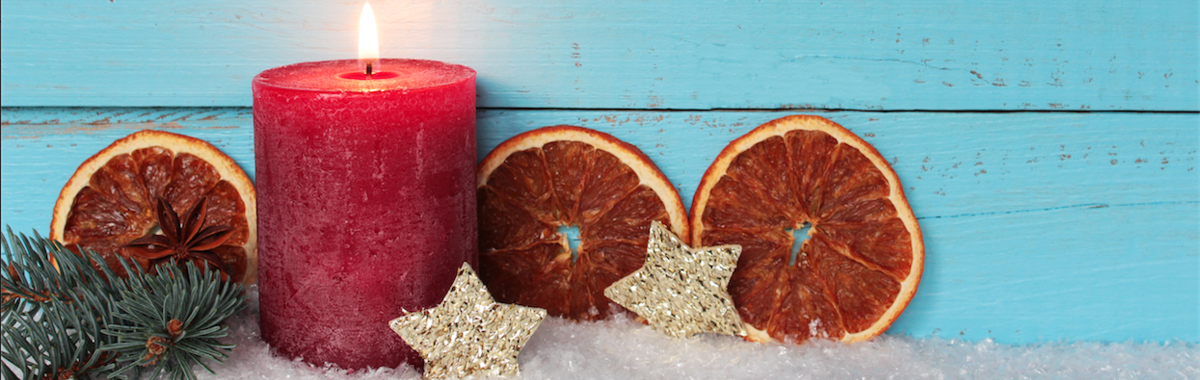 Cómo hacer velas artesanales con naranja y pomelo