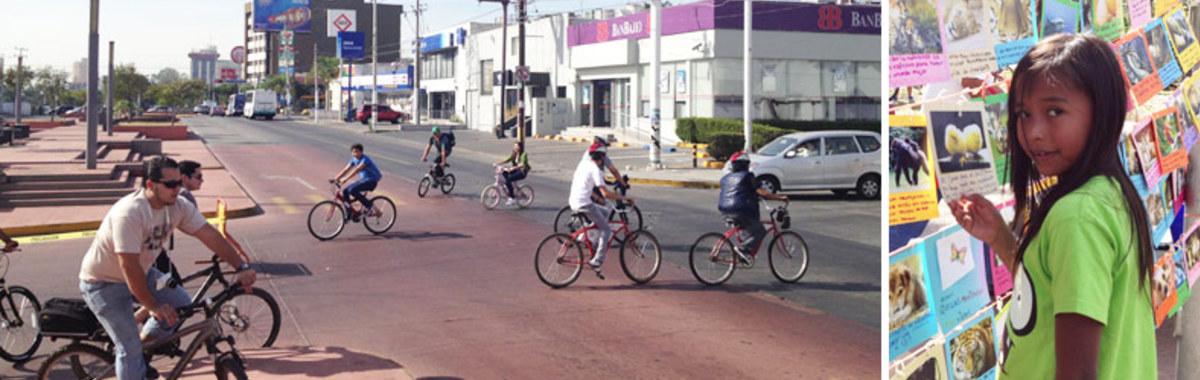 Vía RecreActiva. Ciudad de Guadalajara. México