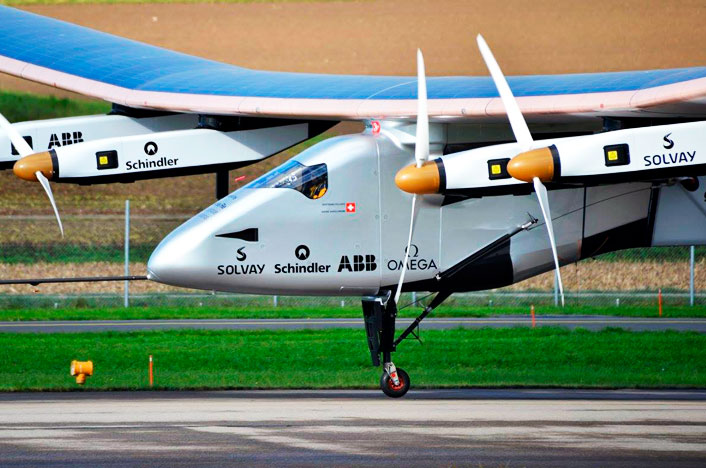 Avión Solar Impulse 2