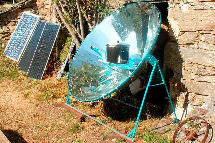 Barbacoa solar