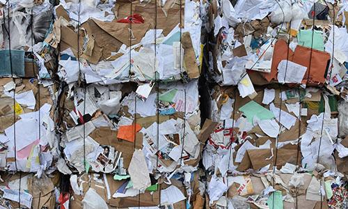 Papel para reciclaje