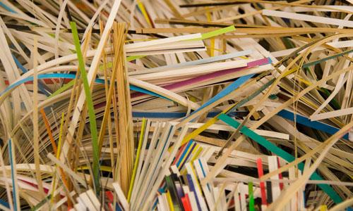 Papel de oficina para reciclar