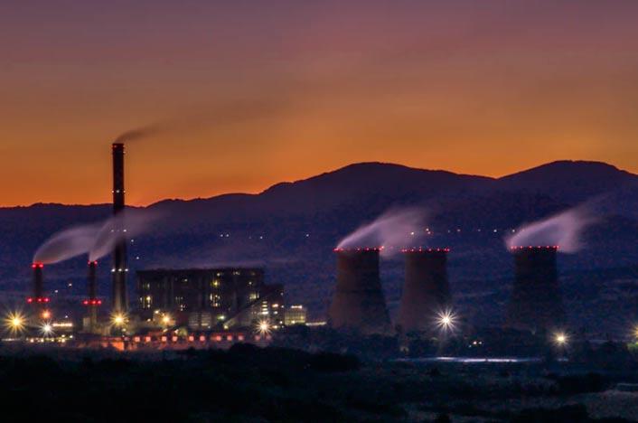 Central donde se realiza la fusión nuclear