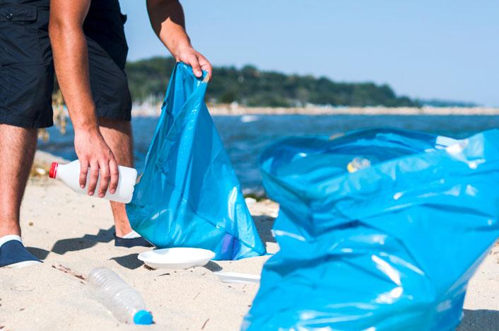 limpiar playas