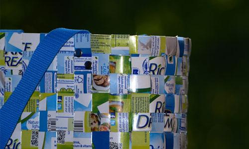 Manualidades papel reciclado