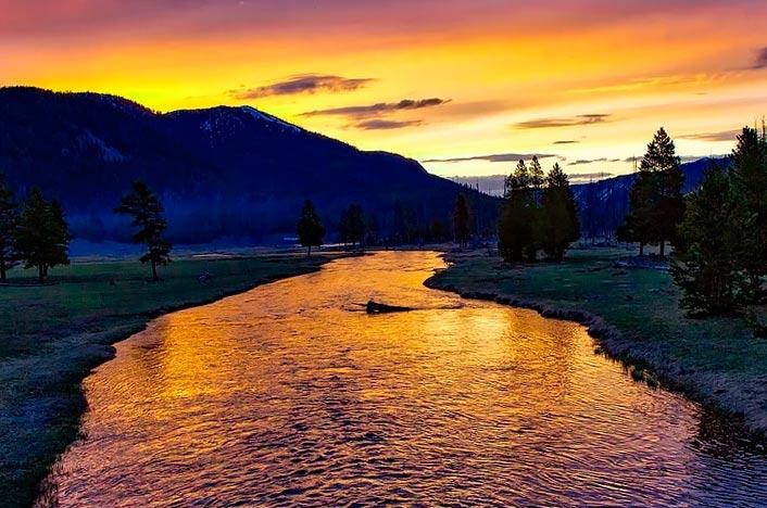 Yellowstone uno de los parques nacionales más espectaculares