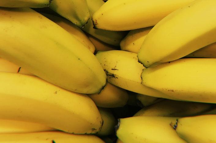 Plátanos que te permiten hacer una bolsa de plástico