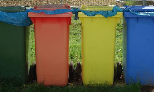 Reciclaje en punto limpio