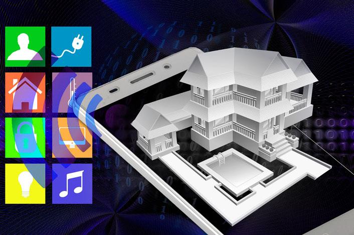 Funcionamiento del smart home control