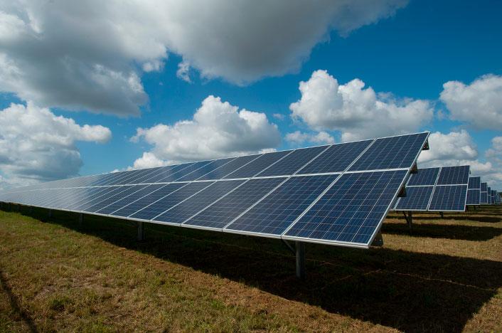 Energía solar por paneles