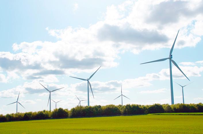 Molinos de viento o aerogeneradores