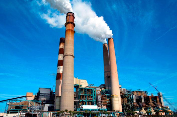 contaminación ambiental por actividad industrial