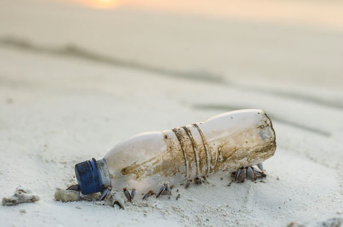 La contaminación con plásticos en China