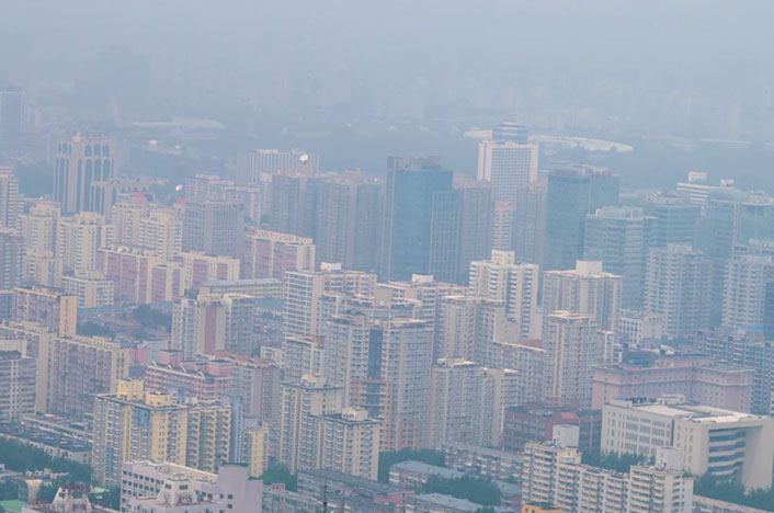 La contaminación en China y sus efectos
