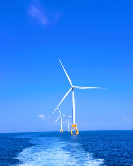 La energía que el viento produce