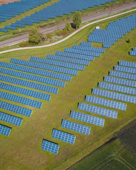 Energía eficiente, paneles solares