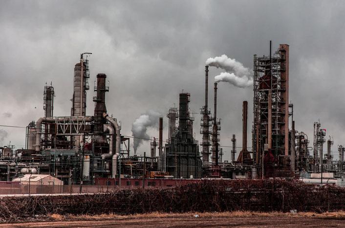 Fabricas contaminantes en China