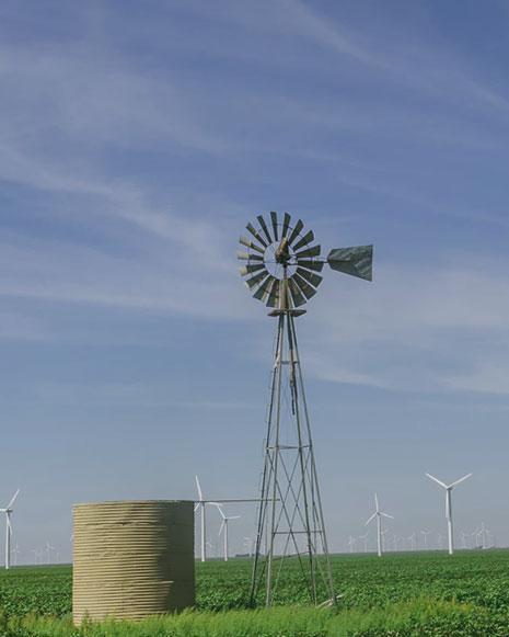 Molino de viento - Eficiencia energética