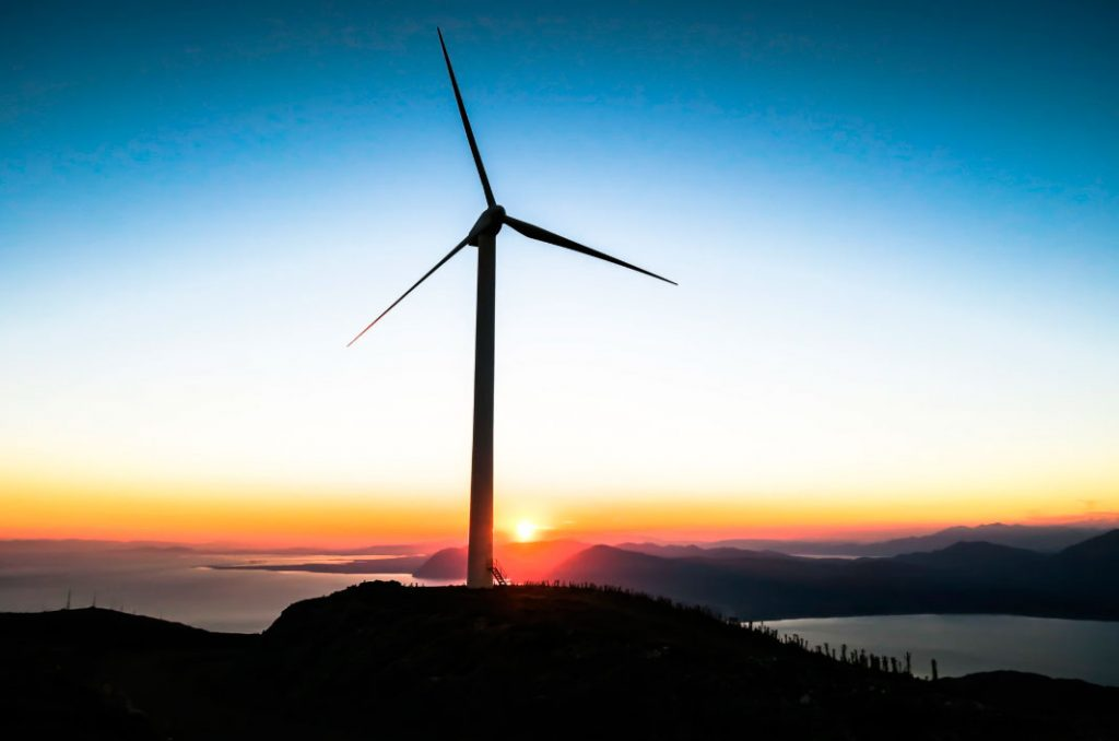 molino de viento para evitar contaminación
