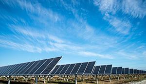 Energía Solar parque fotovoltaico