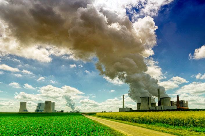Gravedad de la contaminación atmosférica