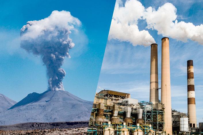 Origen de la contaminación atmosférica