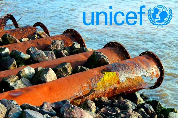 Unicef participa en el tratamiento de aguas residuales