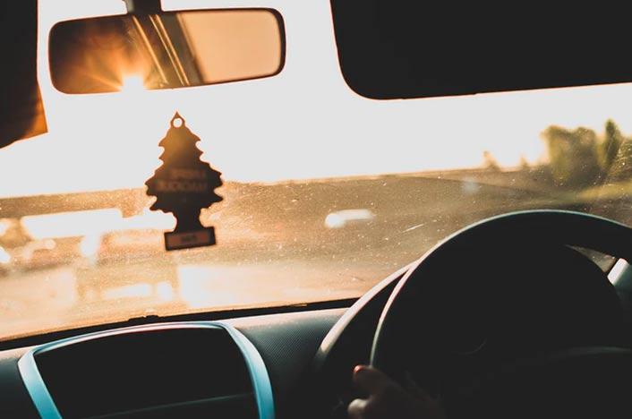 Ambientador casero para coche