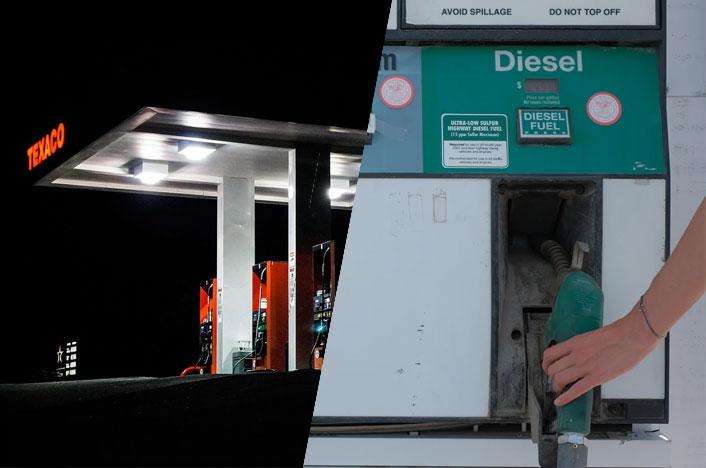 Gasolineras - Combustibles fósiles