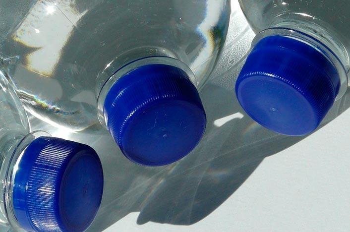 Como reciclar  PET de tapones de botella