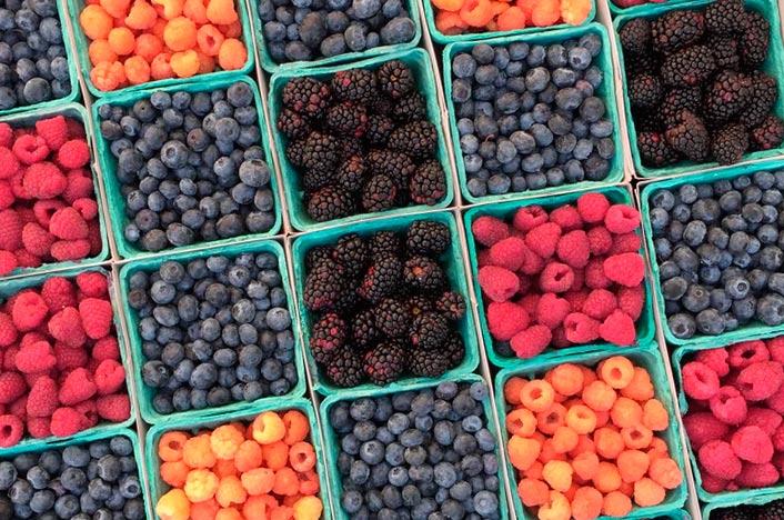 Fruta de temporada para reducir la huella de carbono