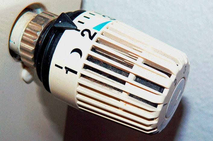 Funcionamiento de la válvula termostática